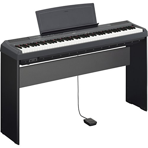 Yamaha P115B Bundle | 88 Key Digital Piano Black L85 Keyboard Stand Bundle