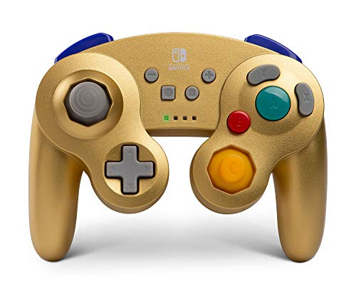 PowerA Kabelloser Controller für Nintendo Switch - Gamecube - Gold