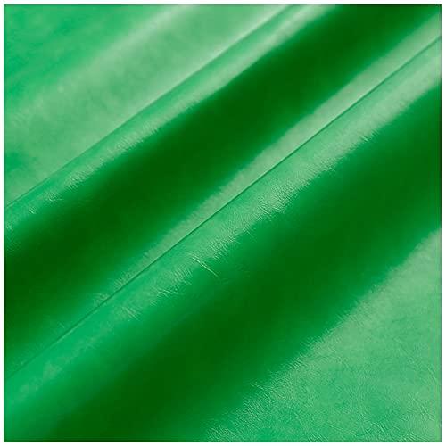 Hoja De Cuero Sólido De Color Sólido De Cuero Sintético Soft Soft Sofet Faux Perfector Para Diy Pendientes De Joyería A Mano Diy Arqueadas De Cabello Tela De Cuero Artificial 57 'x 39'(Color:10#)