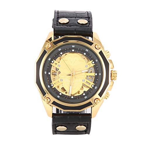 Orologio da polso T-WINNER, orologio meccanico automatico da uomo, orologio da polso con cinturino in PU, impermeabile, per la tua mano, aggiungi il tuo fascino e fiducia, per affari, casa, riunioni