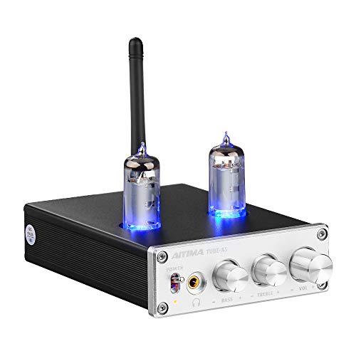 AIYIMA Bluetooth Tube Amplifier Headphone Amplifiers,TPA3116D2 HiFi Stereo 6J4 Vacuum...