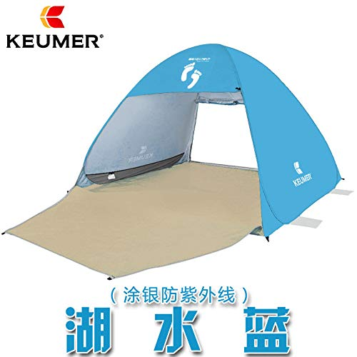 SDSA Tente Automatique Ultra-Légère Escamotable pour 2-3 Personnes, Parc, Plage, Loisirs De Plein Air Et Activités Intérieures, 200 * 190 * 130cm