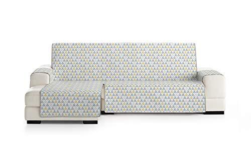 Eysa Nordic Funda, Poliéster, C/5 Amarillo-Gris, Chaise Longue 240cm. Válido para sofá Desde 250 a 300cm