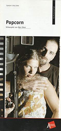 Programmheft Ben Elton POPCORN Premiere 3 Oktober 2002 Komödie Vorderer Lech Spielzeit 2002 / 2003 Nr 3