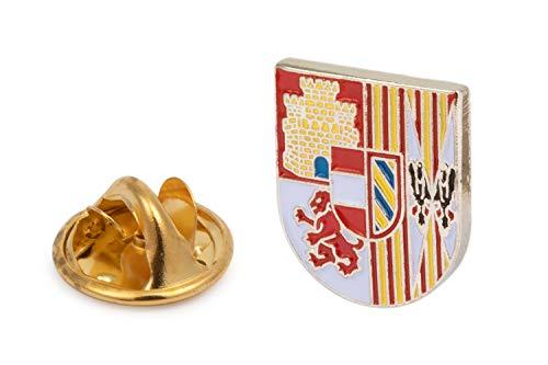 Gemelolandia | Pin de Solapa Escudo del Tercio de Juan de Austria Tercero de la Legión | Pines Originales Para Regalar | Para las Camisas, la Ropa o para tu Mochila | Detalles Divertidos