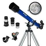 Meade Instruments Infinity 60mm Refractor Azul - Telescopio