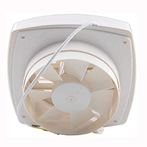 STRAW Ventilador de ventilación, de 8 Pulgadas de Flujo de Aire silencioso, Duradero, fácil de Instalar, Código Cumple, Energía cordón del Sello Mute