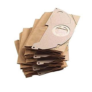 K/ärcher 6.904-210 Lot de 5 poches-filtre en papier 6.904-210 pour NT 361 Eco//TE et NT 35//1