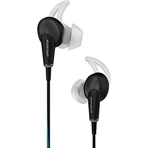 BOSE 718839-0010 QuietComfort 20 In-Ear-Kopfhörer geeignet für Apple Gerät, schwarz Soundsystem