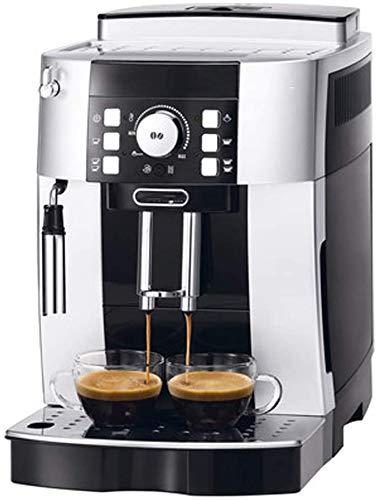 Koffie-volautomaat Huis Italiaanse stoom Melkschuim Timer Koffiezetapparaat Milk schuimende Anti-drip-systeem, Permanent Herbruikbare Filter, Silver WKY