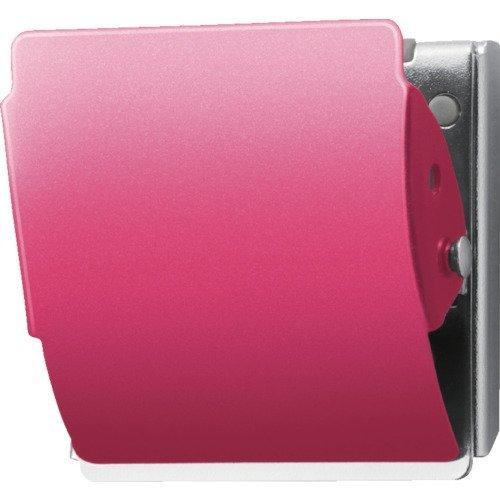 プラス マグネットクリップ CP-047MCR L ピンク (80402) 80402 マグネット式クリップ