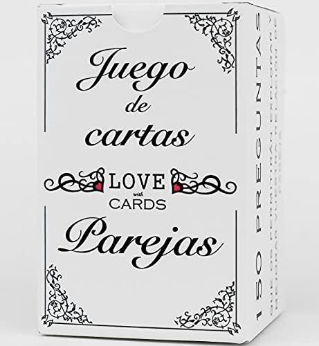 ️LOVEwithCARDS️ Juego de Mesa para Dos, Enamorados, Parejas, Novios o Casados. Regalo Original de Aniversario y San Valentin.