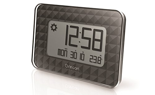 Oregon Scientific JW208_W - Reloj Pared Digital GLAZE