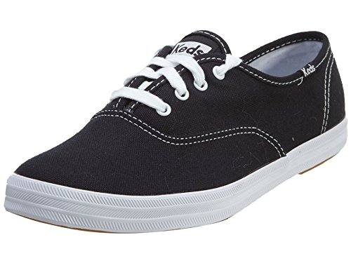Keds Damen CHAMPION CVO CORE CANVAS Sneakers, Schwarz (Black), 36