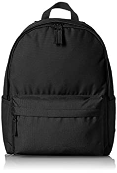 Amazon Basics Classic School Backpack - Black