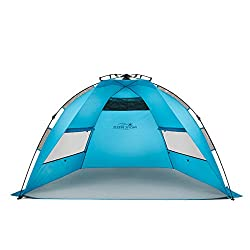 Pacific Breeze EasyUp Beach Tent - Quick Read and Overview