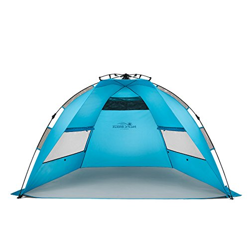 Product Image of the Pacific Breeze Easy Up Beach Tent