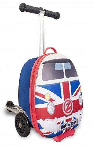 ZincFlyte Kid's Luggage Scooter 15' - Union Jack