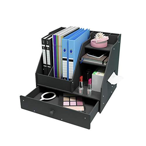 XYZMDJ Almacenamiento Box Office Supplies Dispositivo de Almacenamiento de artefactos Estante de Libro Libros de Acabado de Estudiantes compartida Bastidores Escombros (Color : A)