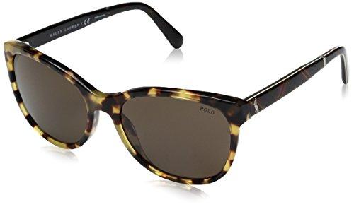 Ralph Lauren POLO 0PH4117 Gafas de sol, Havana Spotty, 56 para Mujer