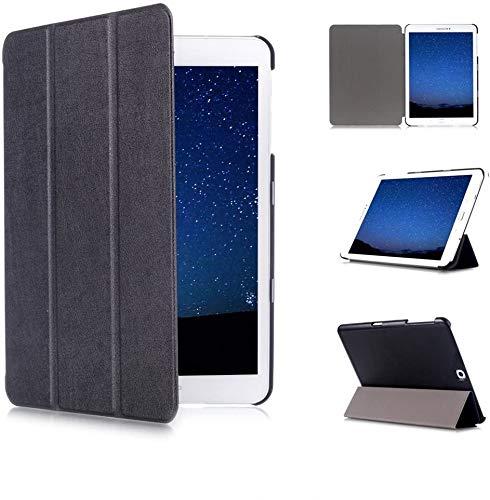 Skytar Custodia Cover per Samsung Galaxy Tab S2 9.7 - Smart Case Cover Protezione per Samsung Galaxy Tab S2 9.7 Pollici T810 / T813 / T815 / T819 Tablet Custodia con Funzione di Sostegno,Nero