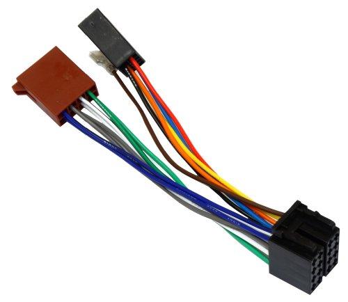 AERZETIX Autoradio ISO-Stecker Verlängerungskabel 20 cm