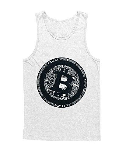 Hypeshirt Tank-Top Cryptocurrency Bitcoin PCB H000023 Weiß XXL