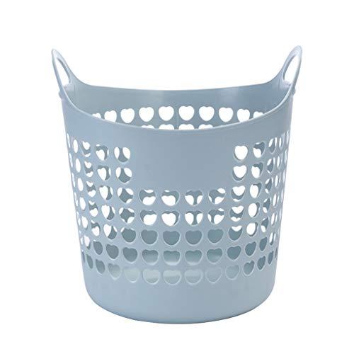 Rekkle La Ropa de plástico Cesta de lavadero Sucia de Almacenamiento portátil Comercial Grande de Almacenamiento Flexible PE PE Capacidad Cesta