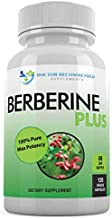 Berberine Plus 1200mg Per Serving - 120 Veggie Capsules Royal Jelly, Supports Glucose Metabolism, Healthy Immune System, Improves Cardiovascular Heart & Gastrointestinal Wellness