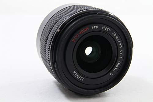 パナソニック標準ズームレンズマイクロフォーサーズ用ルミックスGVARIO14-42mm/F3.5-5.6IIASPH./MEGAO.I.S.ブラックH-FS1442A-KA