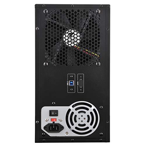 『センチュリー 裸族のスカイタワー 10Bay IS 独立電源スイッチ搭載 HDD 10台搭載可能ケース CRST1035U3IS6G』の5枚目の画像