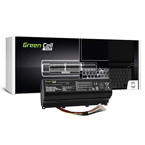 Green Cell® PRO Serie A42N1403 Laptop Akku für Asus ROG G751 G751J G751JL G751JM G751JT G751JY GFX71J (Original Samsung SDI Zellen, 8 Zellen, 5200mAh, Schwarz)