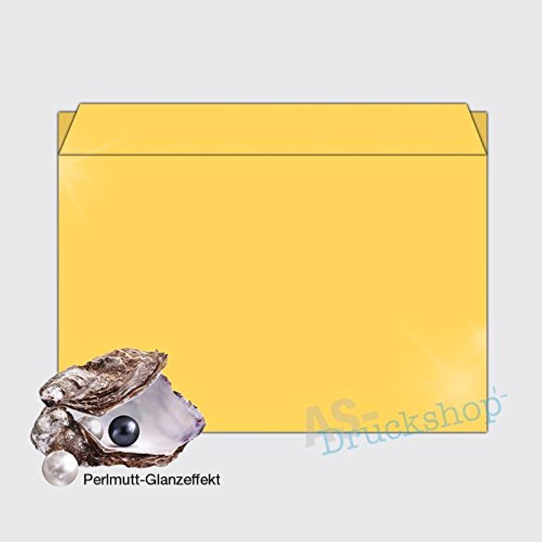 Briefumschlag   KuGrün DIN C5  Gold  - - - mit Perlmutt-Glanz - 25 Stück B01N9P48DU | Vollständige Spezifikation  52d42a