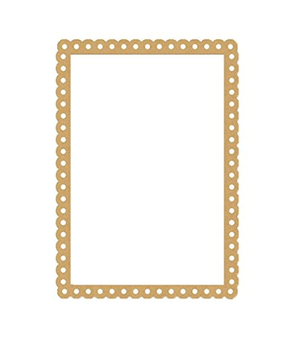 Eyeconnect Crafts Chipboard Lace, Up, Picture Frame, 4