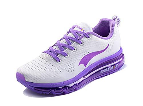 Dilize-OneMix , Unisex Erwachsene Laufschuhe , Violett - Lavendel/Weiß - Größe: 35