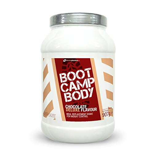 Meal Replacement Shakes for Weight Loss, Boot Camp Body, VLCD, Protein Powder - Strawberry or Chocolate, 907g, 13 Servings (Strawberries & Cream)