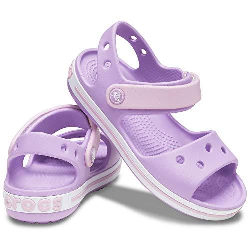 Crocs Crocband Sandal, Sandalia Unisex niños, orquídea, 33/34 EU