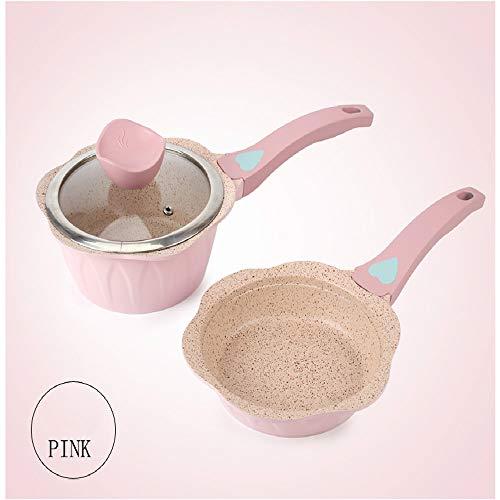 pot16cm Suit Cookware Set Kitchen Pots Soup & Stock Pots Baby Food Supplement Milk Pot Maifan Stone Non-Stick Pots Cooking Children Small