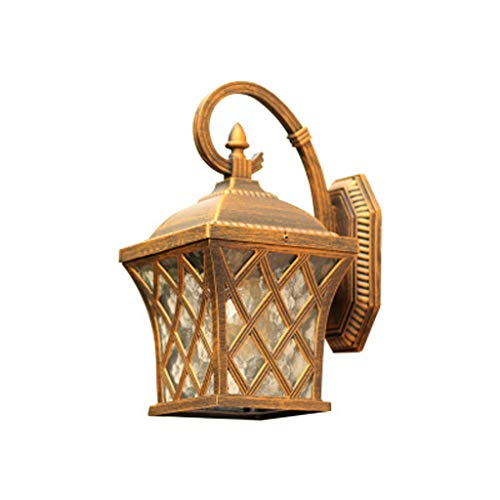 Europese visnet-wandlamp, waterdicht gegoten aluminium tuin landschapslicht buiten, woonkamer mooie decoratieve lamp