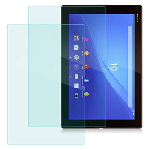 NAUC Bildschirm-Schutz-Folie für Sony Xperia Z4 Tablet 10.1 Schutzfolie Panzerfolie 2X