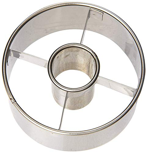 Ateco 8541954757 Donut Cutter, 3.5', Stainless steel 3-1/2-Inch