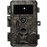 GardePro A3S Caméra de Chasse 24MP 1080P H.264 Vidéo, Vitesse de Dclenchement 0,1s et Angle de Dtection 120°, Jusqu' 30m Camera Chasse Infrarouge Vision Nocturne, No Glow 940nm IR LEDs, IP66