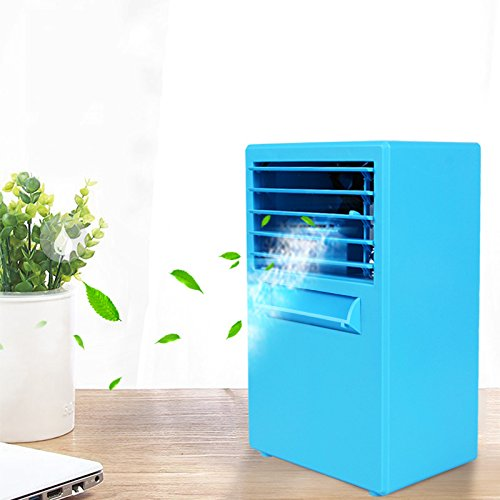 JiaQi Air Conditioning,Mini Air Conditioner Fan,Portable Cooling Office Home...