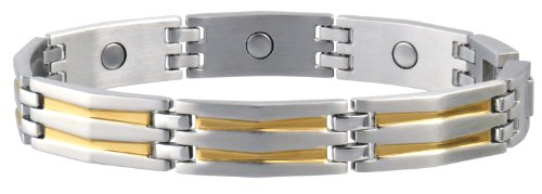 Great Features Of Sabona Silhouette Duet Magnetic Bracelet, Large