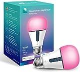 TP-LINK Bombilla LED funciona con Alexa altavoz inteligente y Google Home, Bombilla WiFi Multicolor 800lm (KL130)