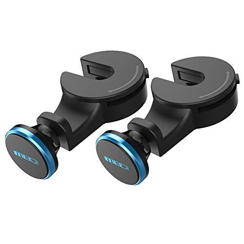 MEIDI Soporte magnético para reposacabezas de coche, para iPad Air Mini Phone 11 12 X Xiaomi, etc., color azul