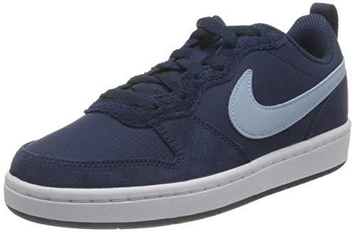 Nike Court Borough Low 2 PE (GS), Zapatillas Unisex niños, Azul Midnight Navy Lt Armory Blue W 400, 35.5 EU