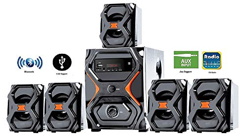 IKALL IK222 BT 51 Channel Home Theater Music System Black Rs. 2199  ( 45%  Discount).