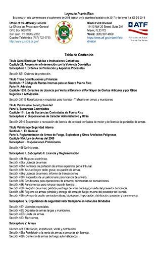 Leyes de Puerto Rico: Esta seccion esta corriente para el suplemento de 2018 (sesion de la asamblea legislativa de 2017) y las leyes 1 a 305 DE 2018 (English Edition)