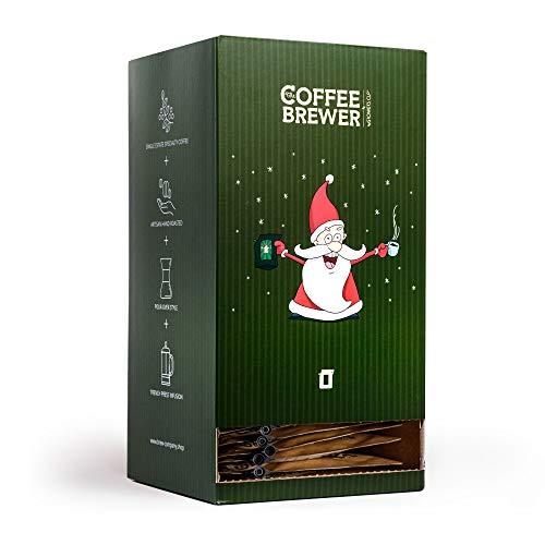 Kaffee-Adventskalender mit 25 Coffeebrewer-Kaffeetaschen